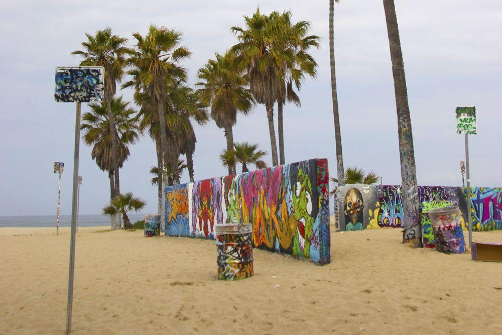 Venice Beach Art Walls
