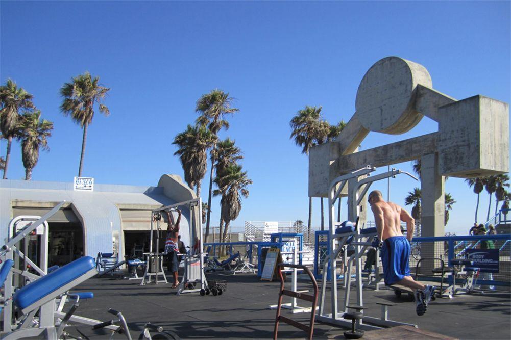 Venice Muscle Beach
