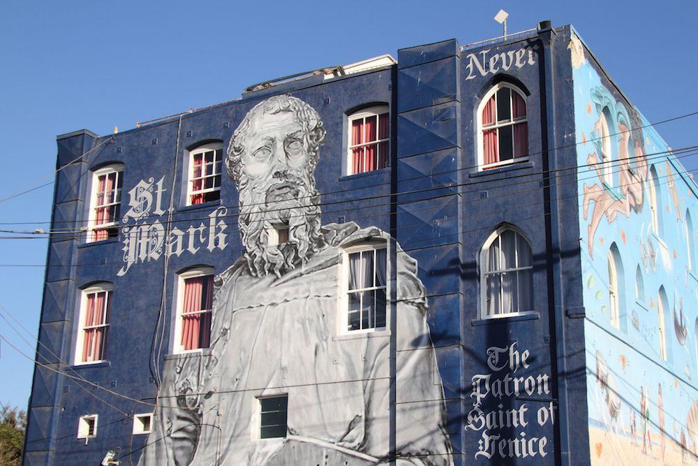 St Mark Mural Venice