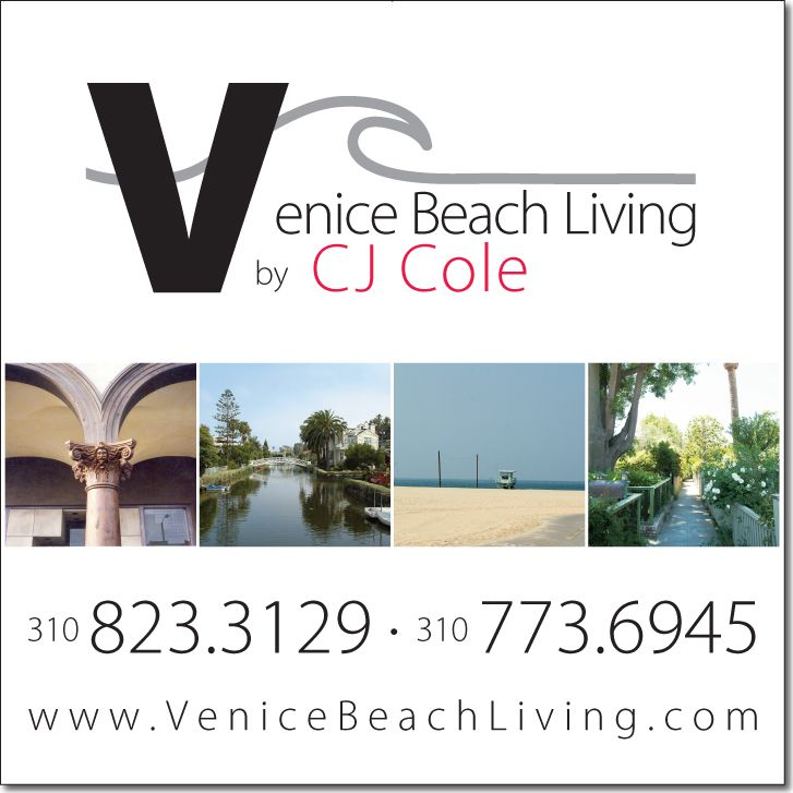 Venice Beach Living Sign