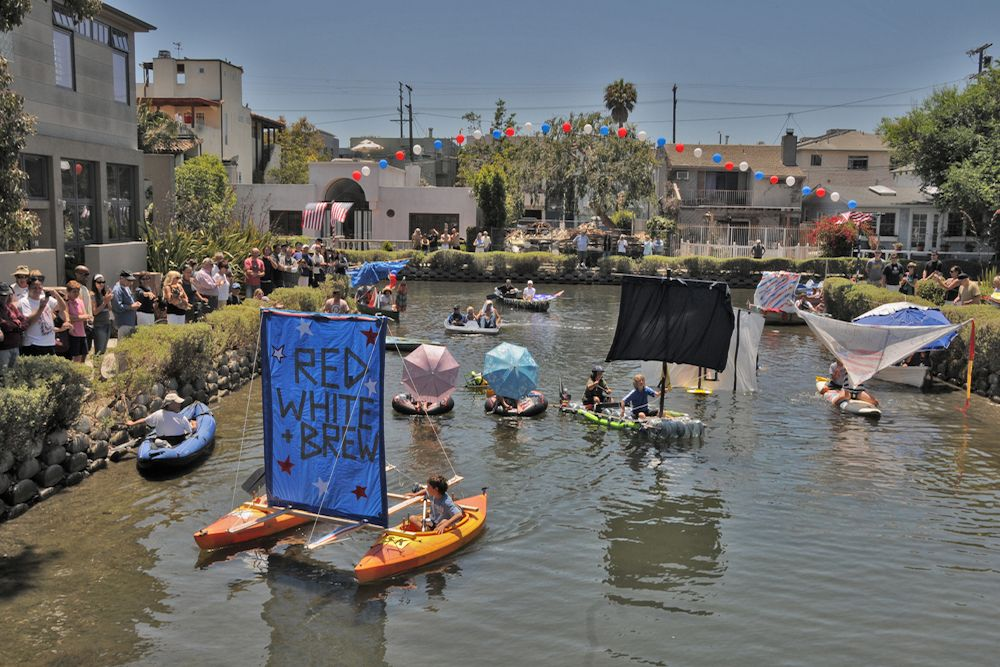 Venice Canals Downwind Regatta