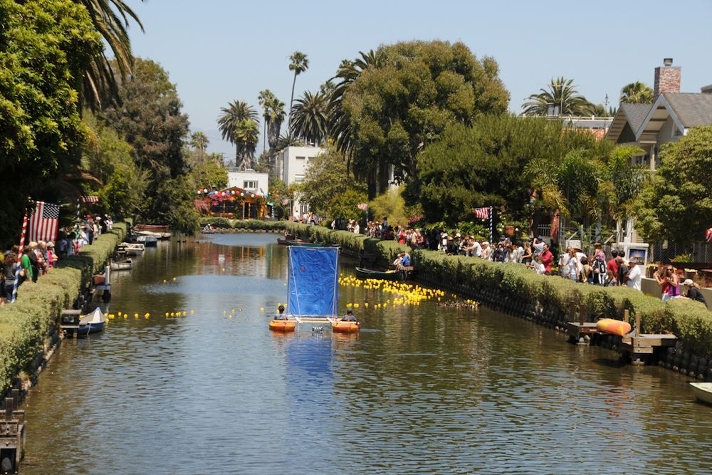 Venice Canals Downwind Regatta + Rubber Ducky Race