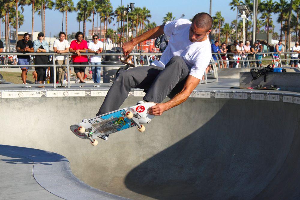 Venice Skateboarder