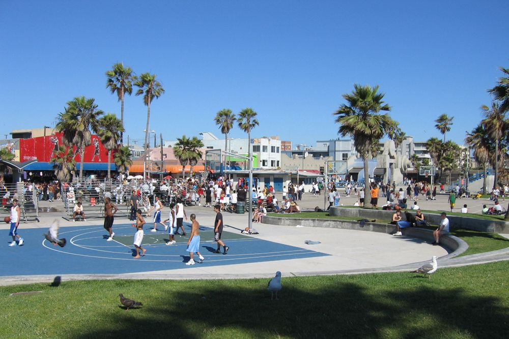 Venice Beach Basketball Court