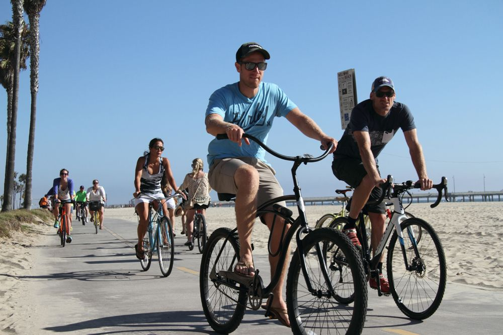 Venice Beach Biking
