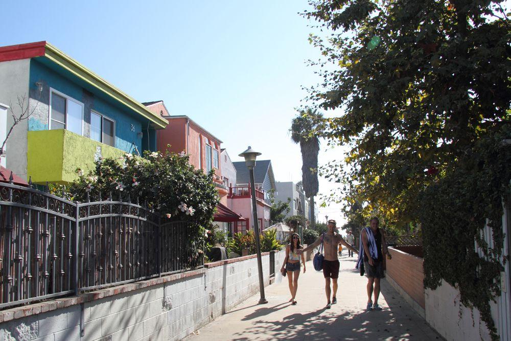 Venice Beach Walk Street