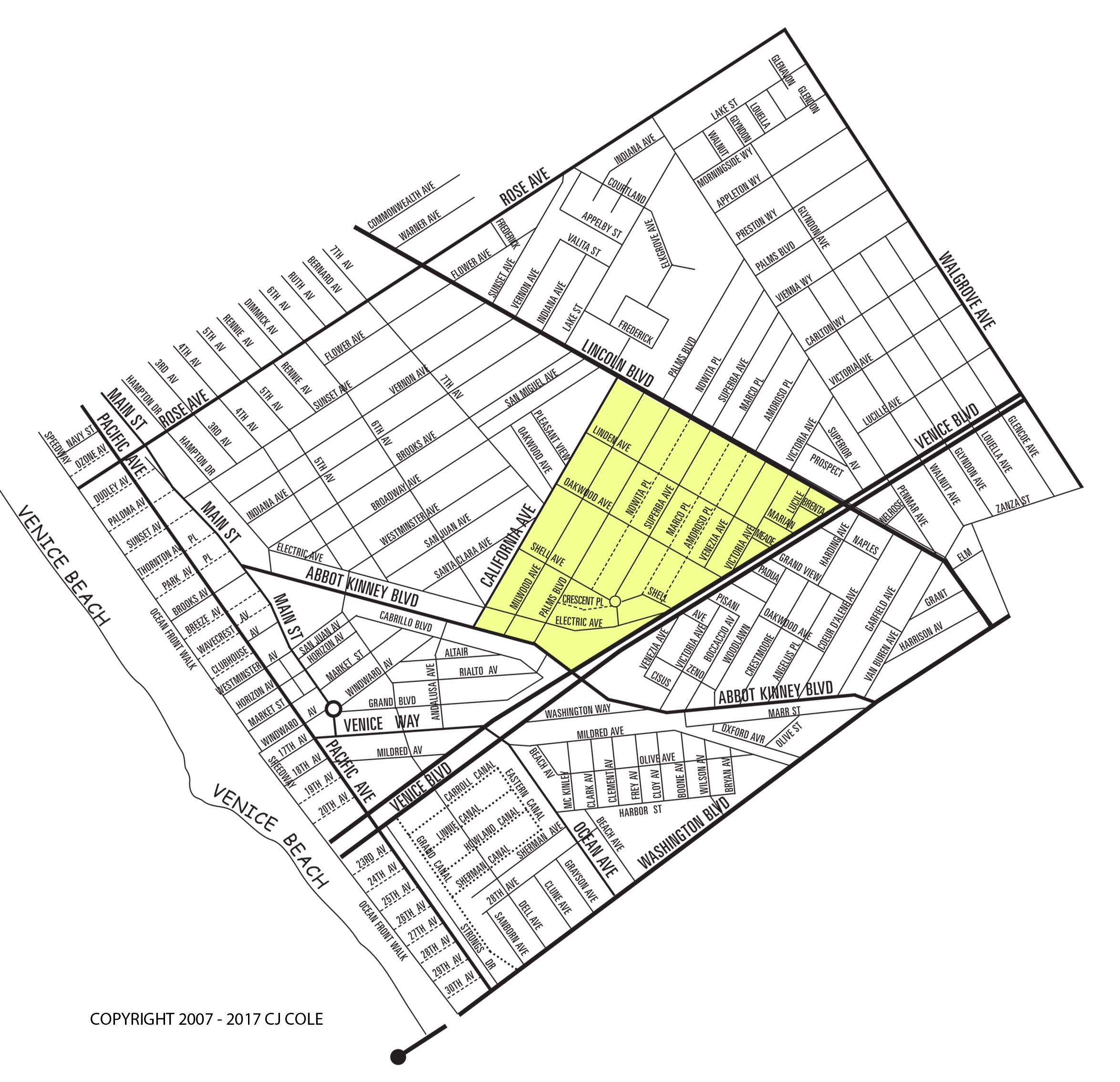 The Milwood Neighborhood Map