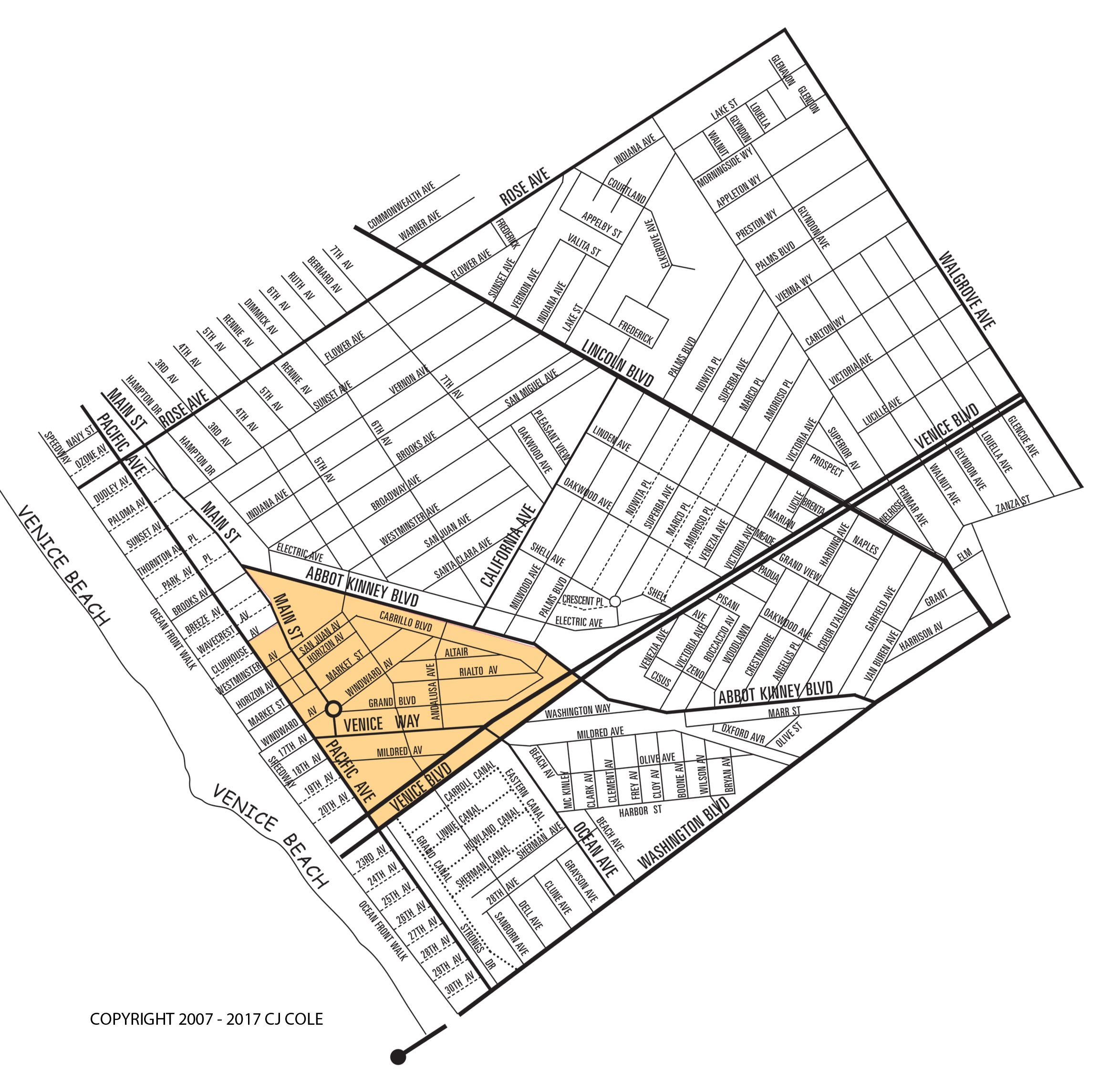 The Windward Circle Neighborhood Map